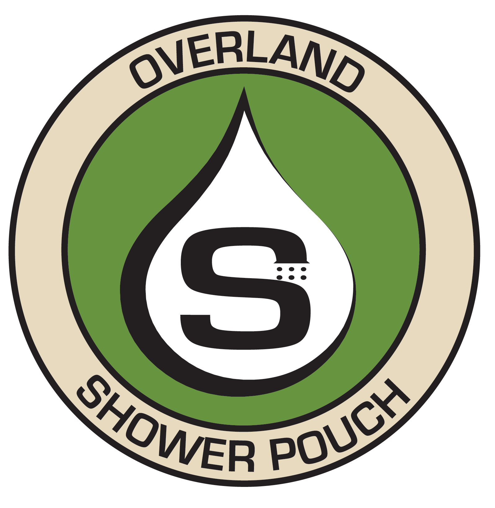 Overland Shower Pouch
