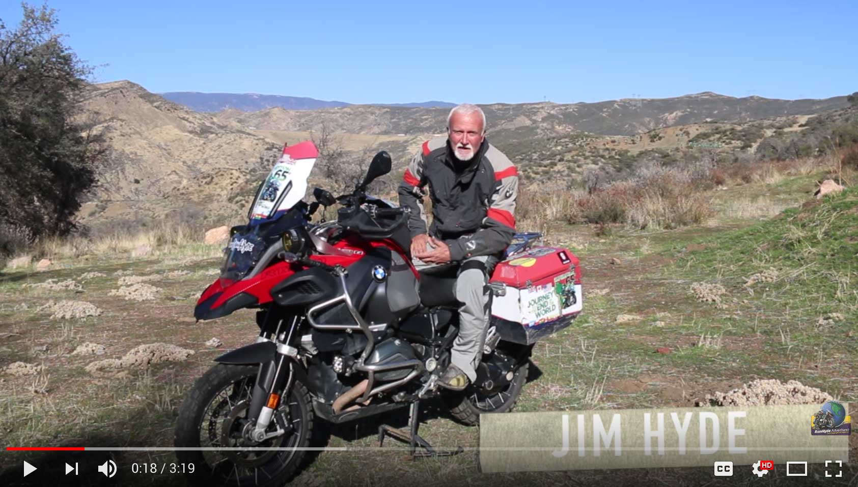 Why is that you always see BMW GS riders standing up when they're riding dirt roads and trails? RawHyde Adventure founder Jim Hyde answers this question in the first of a series off-road riding tips for BMW GS owners.e